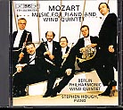 W.A. Mozart / Music for Piano and Wind Quintet / Berlin Philharmonic Wind Quintet / Stephen Hough