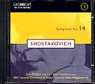Dmitri Shostakovich / Symphony no. 14 / BBC National Orchestra Wales / Mark Wigglesworth