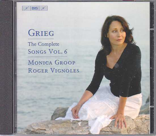 Edvard Grieg / Songs, Vol. 6 / Monica Groop / Roger Vignoles