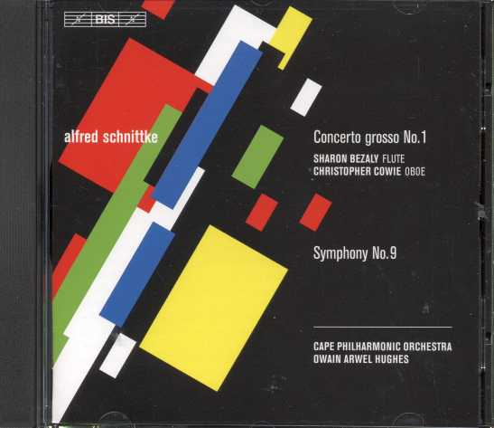 Alfred Schnittke / Concerto grosso No. 1 / Symphony No. 9 / Sharon Bezaly / Cape Philharmonic Orchestra