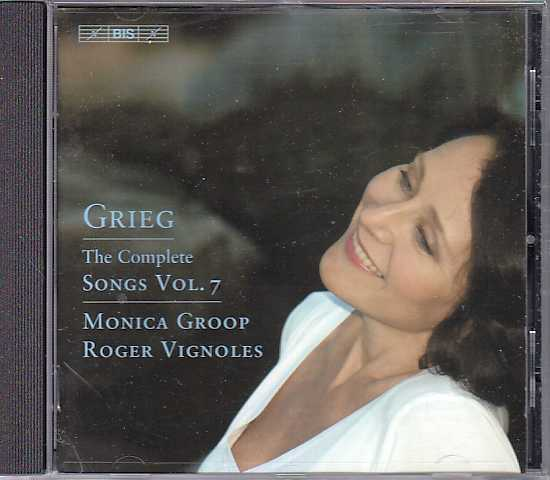 Edvard Grieg / Songs, Vol. 7 / Monica Groop / Roger Vignoles