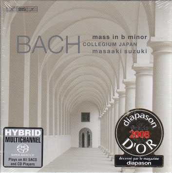 J.S. Bach / Mass in B minor / Bach Collegium Japan / Masaaki Suzuki SACD