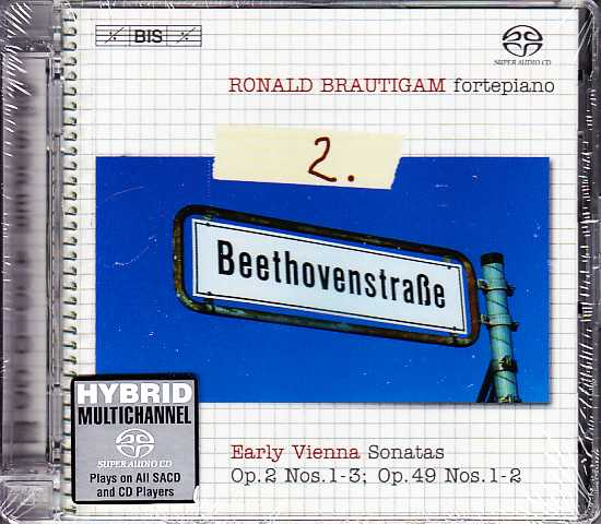 Ludwig van Beethoven / Piano Works, vol. 2 / Ronald Brautigam SACD