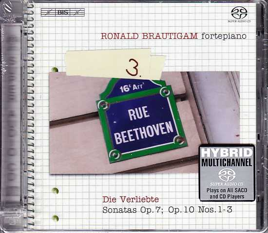 Ludwig van Beethoven / Piano Works, vol. 3 / Ronald Brautigam SACD