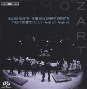 W.A. Mozart / Violin Concertos 1, 2 & 4 etc. / Australian Chamber Orchestra / Richard Tognetti SACD