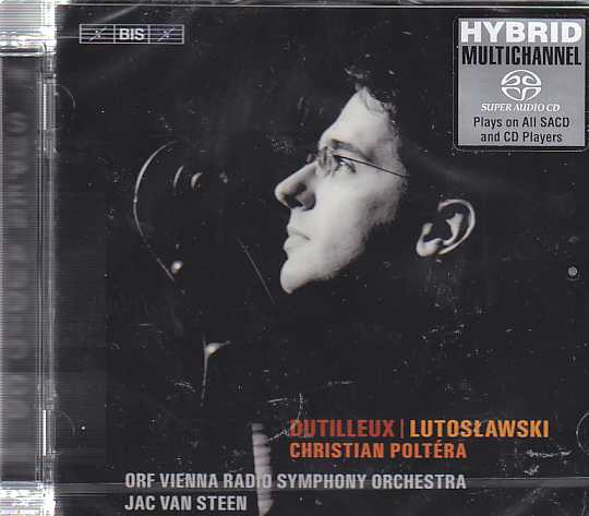Henri Dutilleux / Witold Lutoslawski / Works for Solo Cello / Christian Poltéra