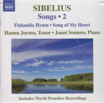 Jean Sibelius / Songs, vol. 2 / Hannu Jurmu / Jouni Somero