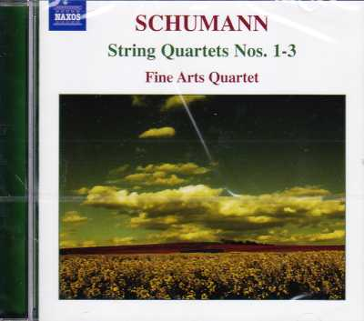 Robert Schumann / String Quartets Nos. 1-3 / Fine Arts Quartet