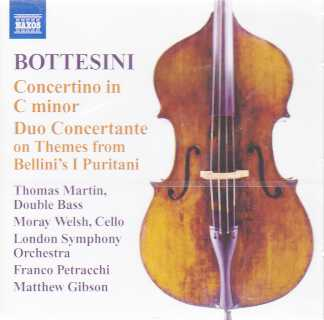 Giovanni Bottesini / Concertino in C minor & Duo Concertante on Themes from Bellini's I Puritani / London Symphony Orchestra / Matthew Gibson