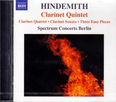 Paul Hindemith / Chamber Music with Clarinet / Spectrum Concerts Berlin