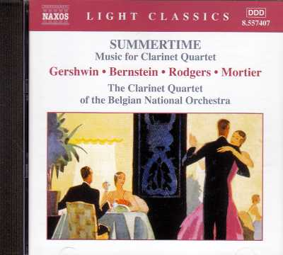 Summertime / Music for Clarinet Quartet