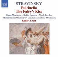 Igor Stravinsky / Pulcinella / The Fairy's Kiss / Robert Craft