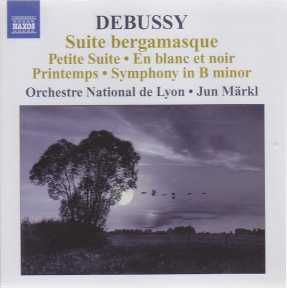 Claude Debussy / Orchestral Works 6 / Orchestre National de Lyon / Jun Märkl