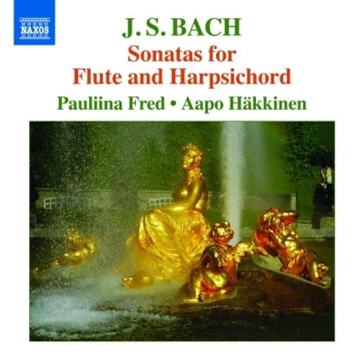 J.S. Bach / Sonatas for Flute and Harpsichord // Pauliina Fred / Aapo Häkkinen