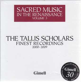The Tallis Scholars Finest Recordings / Sacred Music in the Renaissance Vol. 3 / 4CD