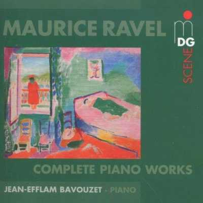 Maurice Ravel / Piano Works (Complete) // Jean-Efflam Bavouzet
