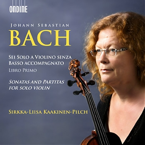 J.S. Bach / Sonatas and Partitas for Solo Violin // Sirkka-Liisa Kaakinen-Pilch
