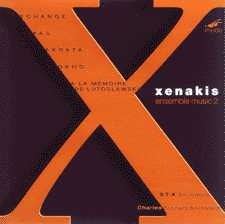 Iannis Xenakis / Ensemble Music II / ST-X Ensemble