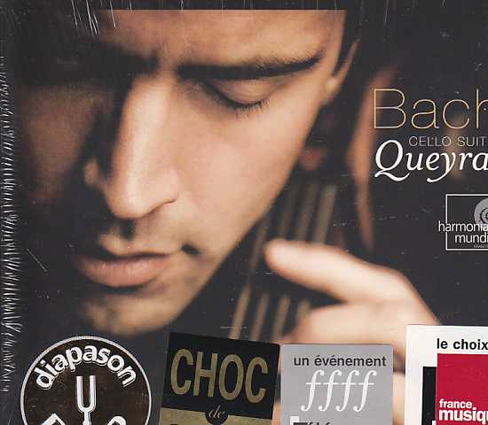 J.S. Bach / Cello Suites / Jean-Guihen Queyras 2CD+DVD