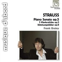 Richard Strauss / Piano Works // Frank Braley