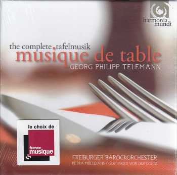 Georg Philipp Telemann / The Complete Tafelmusik / Musique de Table 4CD