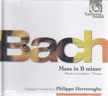 J.S. Bach / Mass in B minor / Motets / Philippe Herreweghe 3CD