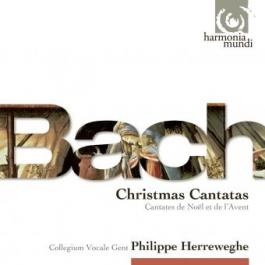 J.S. Bach / Advent & Christmas Cantatas / Collegium Vocale Gent / Philippe Herreweghe 3CD