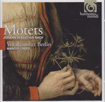 J.S. Bach / Motets / Vocalconsort Berlin / Marcus Creed