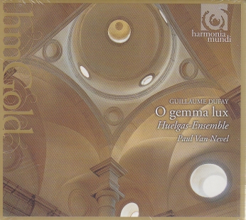Guillaume Dufay / O gemma lux / Huelgas-Ensemble / Paul van Nevel