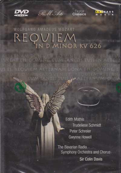 W.A. Mozart / Requiem / The Bavarian Radio Symphony Orchestra and Chorus / Sir Colin Davis DVD