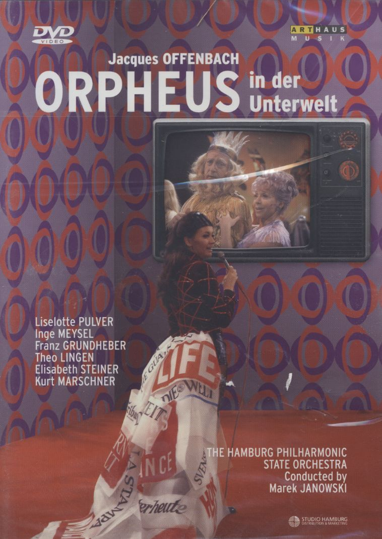 Jacques Offenbach / Orpheus in der Unterwelt (Orphée aux Enfers) / William Workman / Elisabeth Steiner / The Hamburg Philharmonic State Orchestra / Marek Janowski DVD