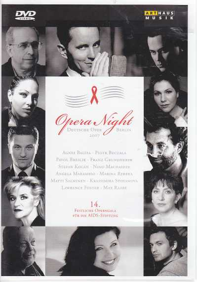 Opera Night for the German AIDS Foundation / Agnes Baltsa / Matti Salminen etc. / Orchestra & Chorus of the Deutsche Oper Berlin / Lawrence Foster DVD