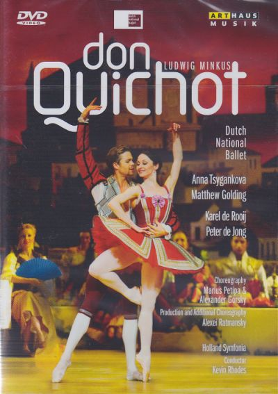 Ludwig Minkus / Don Quichot / Dutch National Ballet / Holland Sinfonia / Kevin Rhodes DVD