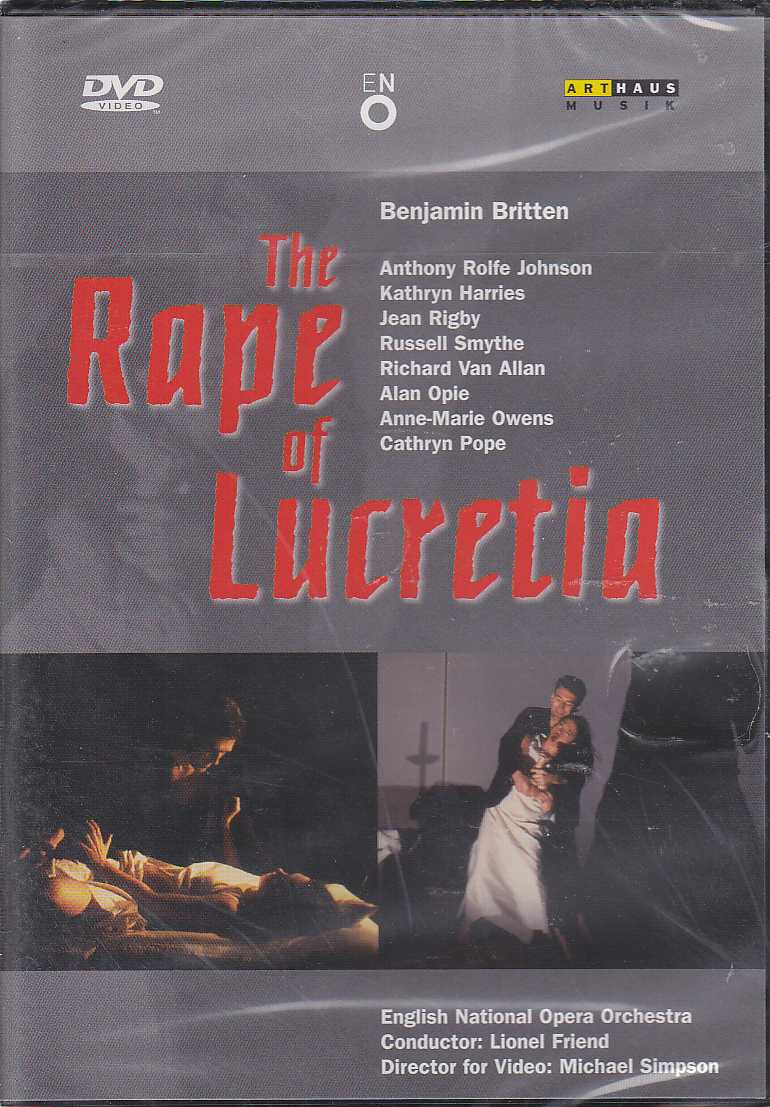 Benjamin Britten / The Rape of Lucretia / English National Opera Orchestra / Lionel Friend DVD
