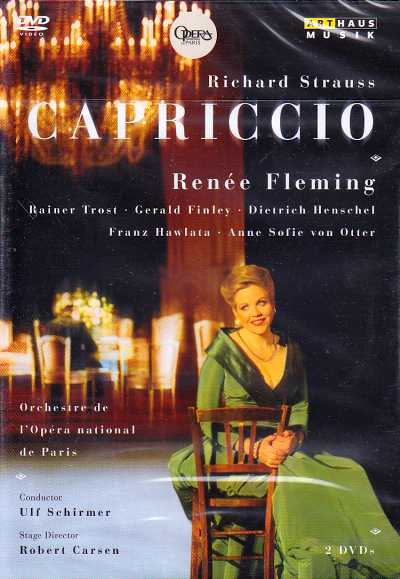 Richard Strauss / Capriccio / Renée Fleming / Rainer Trost / Orchestre de l'Opéra National de Paris / Ulf Schirmer 2DVD