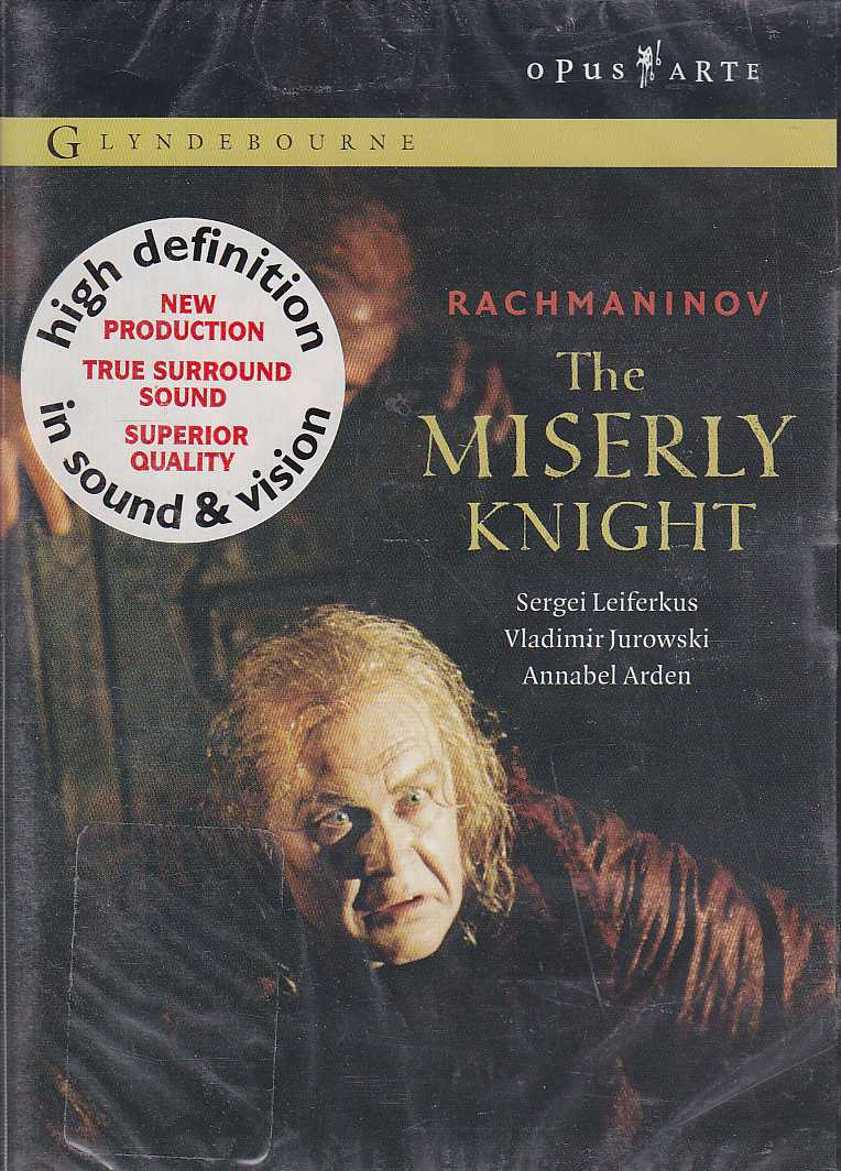 Sergei Rachmaninov / The Miserly Knight / Richard Berkeley-Steele / Maxim Mikhailov / London Philharmonic Orchestra / Vladimir Jurowski DVD