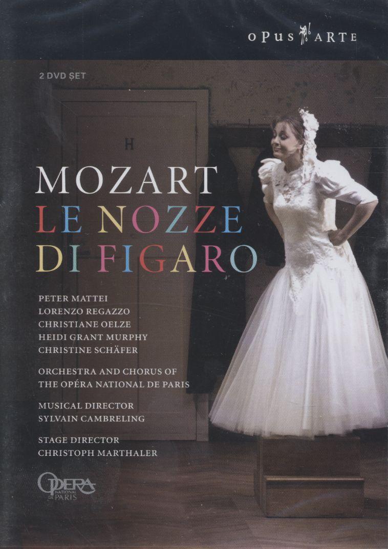 W.A. Mozart / Le Nozze di Figaro / Peter Mattei / Lorenzo Regazzo ...