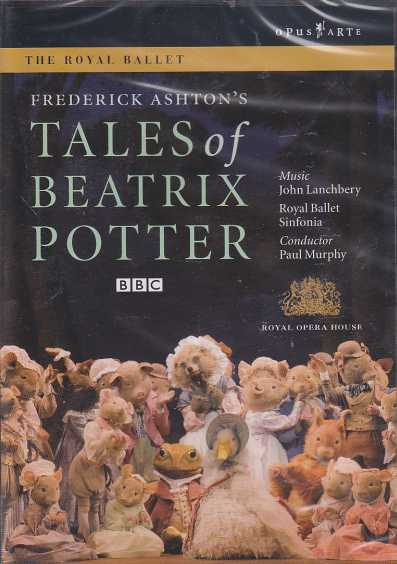 John Lanchbery / Tales of Beatrix Potter / The Royal Ballet & Sinfonia / Paul Murphy DVD