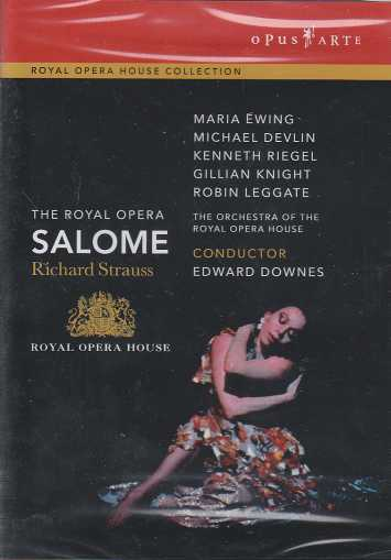 Richard Strauss / Salome / Maria Ewing / Michael Devlin / The Orchestra of the Royal Opera House / Edward Downes DVD