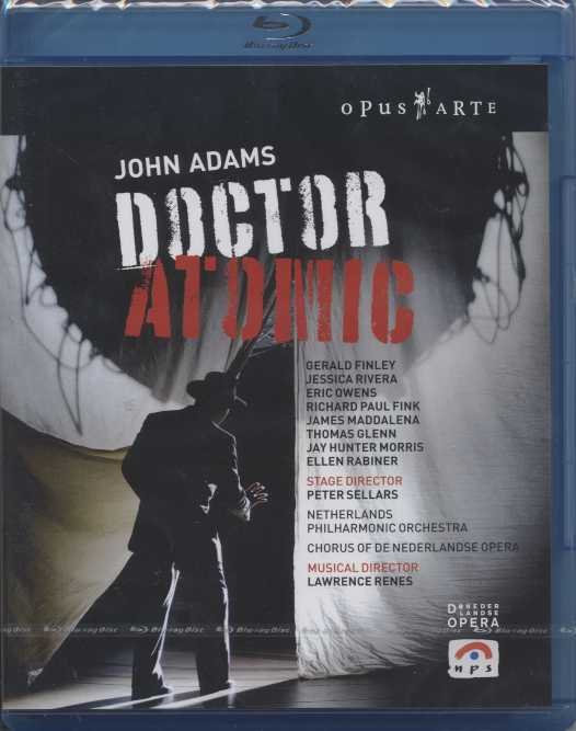 John Adams / Doctor Atomic / De Nederlandse Opera / Blu-ray Disc