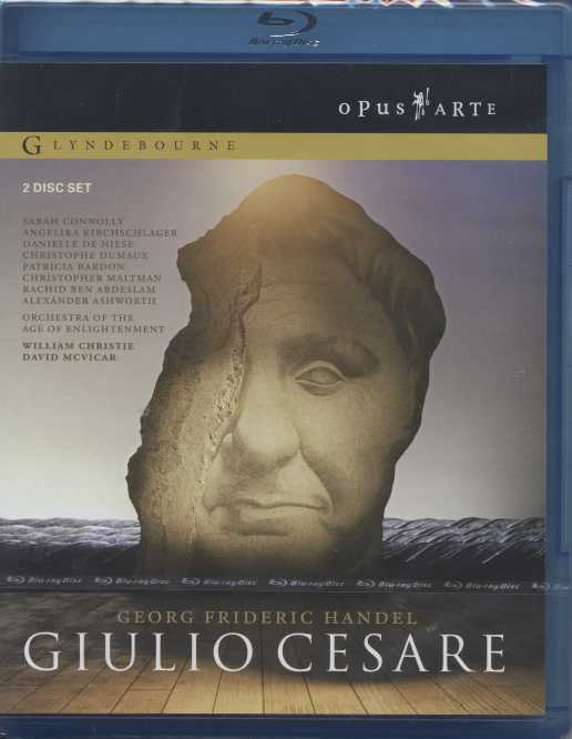 Georg Friedrich Händel / Giulio Cesare / Sarah Connolly / Angelika Kirchschlager / William Christie / Glyndebourne Festival / Blu-ray Disc
