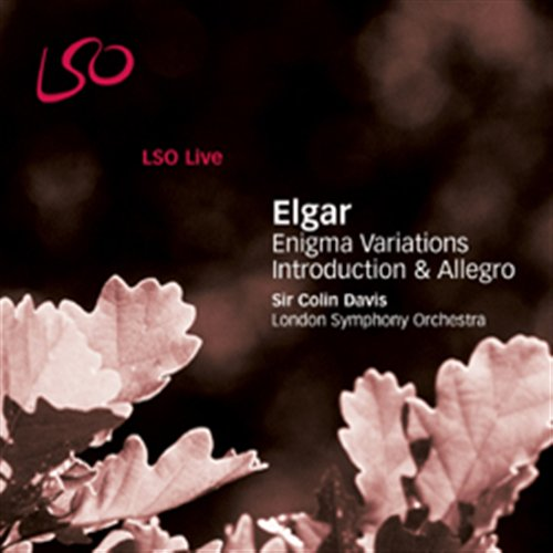 Edward Elgar / Enigma Variations / Introduction and Allegro / London Symphony Orchestra / Colin Davis SACD