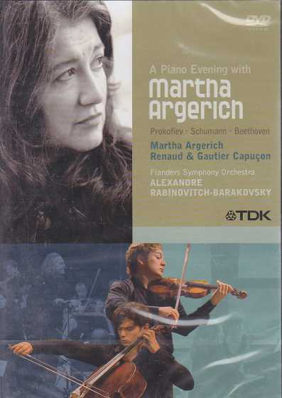 A Piano Evening with Martha Argerich DVD