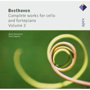 Ludwig van Beethoven / Complete Works for Cello and Fortepiano / Anssi Karttunen / Tuija Häkkinen