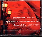 Dmitri Shostakovich / Piano Trios 1-2 / Blok Romances / Beaux Arts Trio / Joan Rodgers