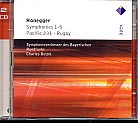 Arthur Honegger / Symphonies 1-5 / Pacific 231 / Rugby // Symphonieorchester des Bayerischen Rundfunks / Charles Dutoit