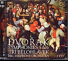 Dvoák: Symphonies 5 & 6 / BBC SO / Belohlavek