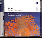 W.A. Mozart / The Violin Concertos / Philharmonia Orchestra / Thomas Zehetmair