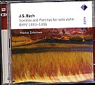 J.S. Bach / Sonatas and Partitas / Thomas Zehetmair