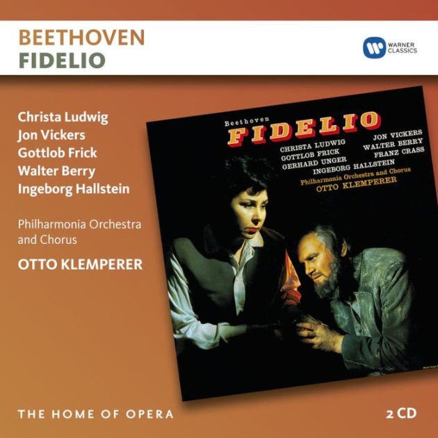 Ludwig van Beethoven / Fidelio // Christa Ludwig / Jon Vickers / Gottlob Frick / Walter Berry / Philharmonia Orchestra / Otto Klemperer